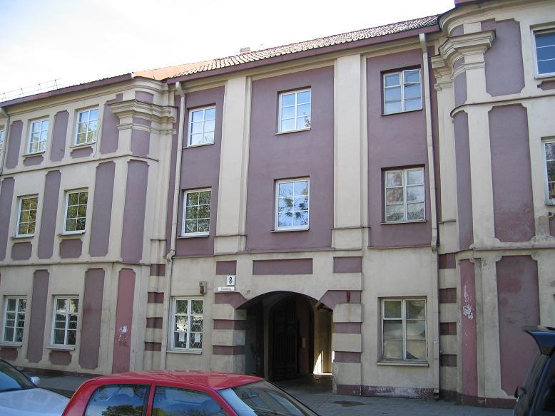 Här låg Judenrats (judiska rådets) kontor i getto 1