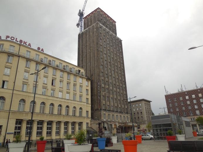 Prudential Building - För tiden Warszawas högsta byggnad som bombades svårt