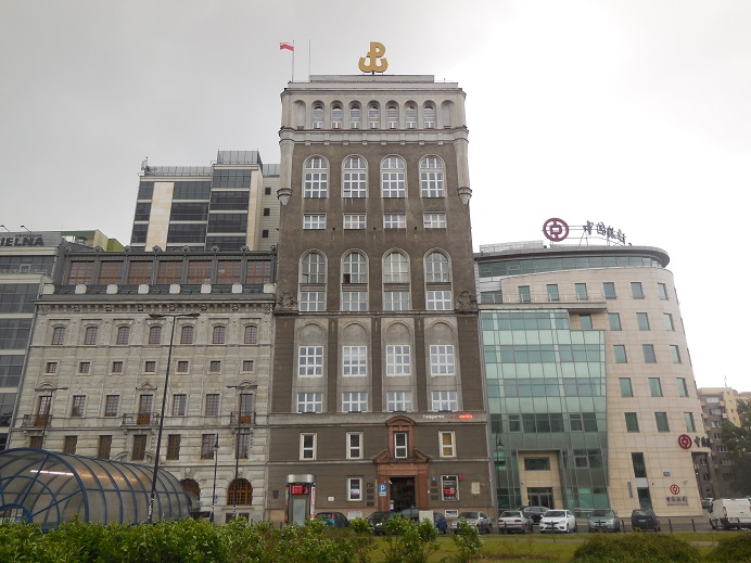 PAST Building - Erövrades av hemma armén i inledningen av upproret