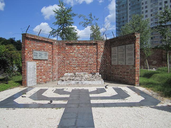 Monument på den judiska kyrkogården