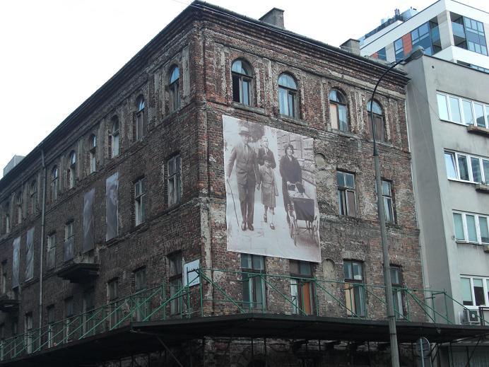 Bevarat hus i det f.d. gettot