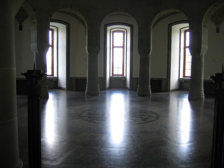 Inuti slottet