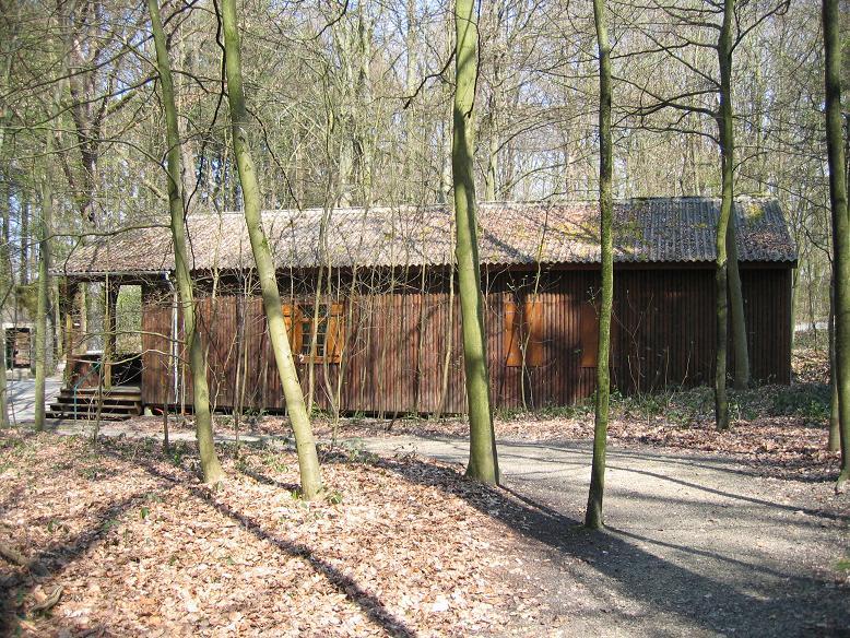Hitlers barack har rekonstruerats och innehåller en utställning