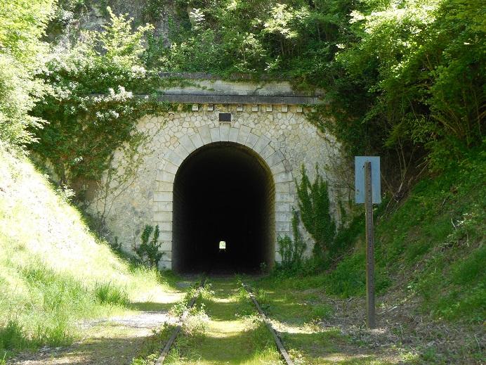 Tunnelns södra öppning
